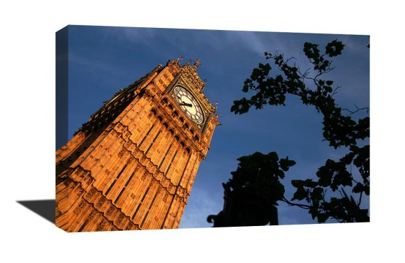 A stunning 20x26 museum quality canvas gallery wrap of an original photograph I took of Big Ben.