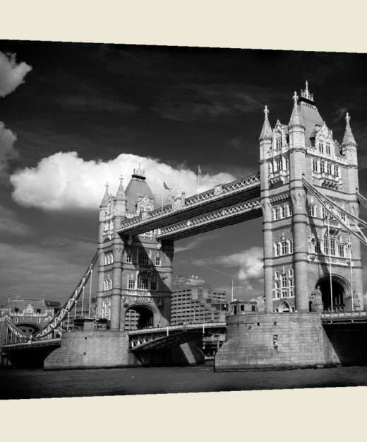 A stunning  museum quality canvas gallery wrap, London, Tower Bridge, England, Bridges, photography, canvas print, home decor, black  white