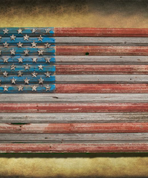 American Flag, Reclaimed Barn Wood, One of a kind, 3D, Wooden, vintage, art, distressed, red, blue, gray patriotic, wall art USA, home decor