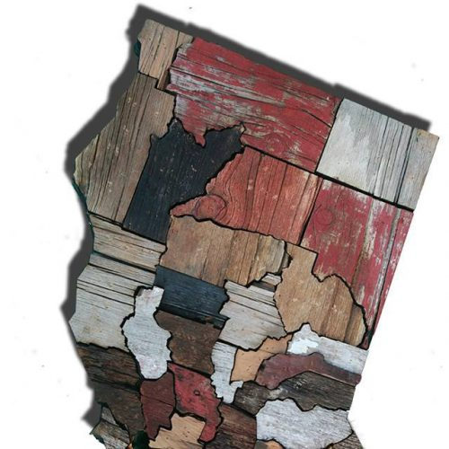 Calfornia Counties map made from Reclaimed Barn Wood, recycled, reclaimed wooden map, vintage, rustic fine art one of a kind piece.