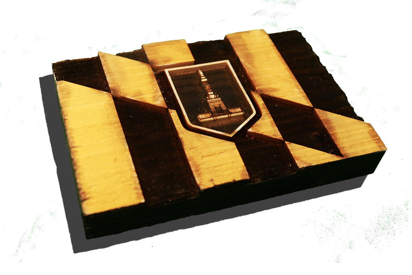 City of Baltimore Maryland Flag Weathered Wood One of a kind ...