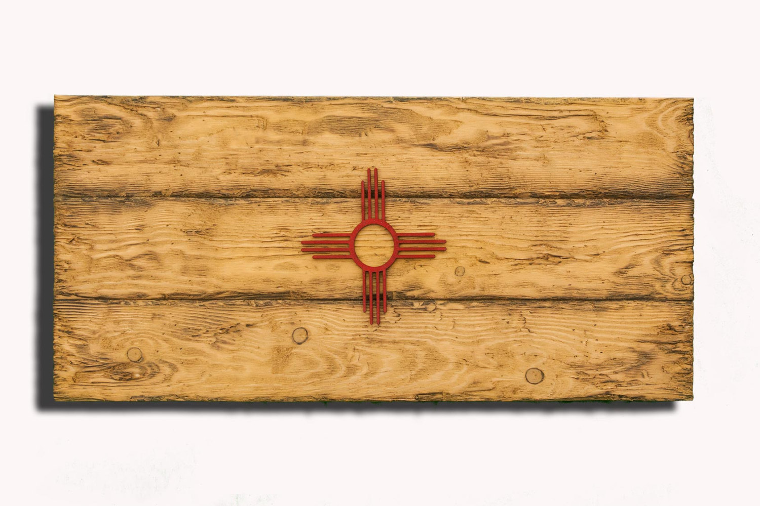 distressed wood wall art tree wooden plank wall new mexico state flag handmade distressed wooden vintage art distressed art
