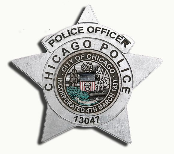 Personalized Police Dept Sign Handmade reclaimed wood sign, vintage, art, recycled, Chicago Police Department, Wall art, Man Cave, PD
