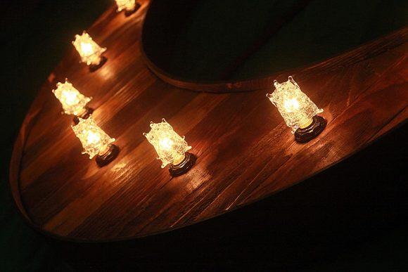 Reclaimed barn wood marquee Moon w/ Lights, Shabby Chic, Salvaged Barn Wood Letter, Night light, Nursery, restaurant, home decor