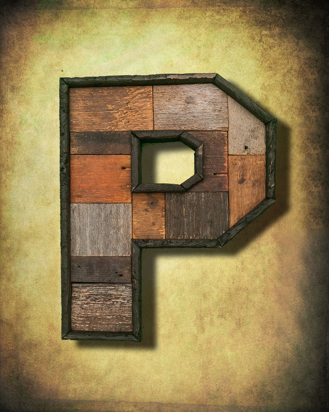 Reclaimed wood marquee letters Shabby Chic, Salvaged Barn Wood ...