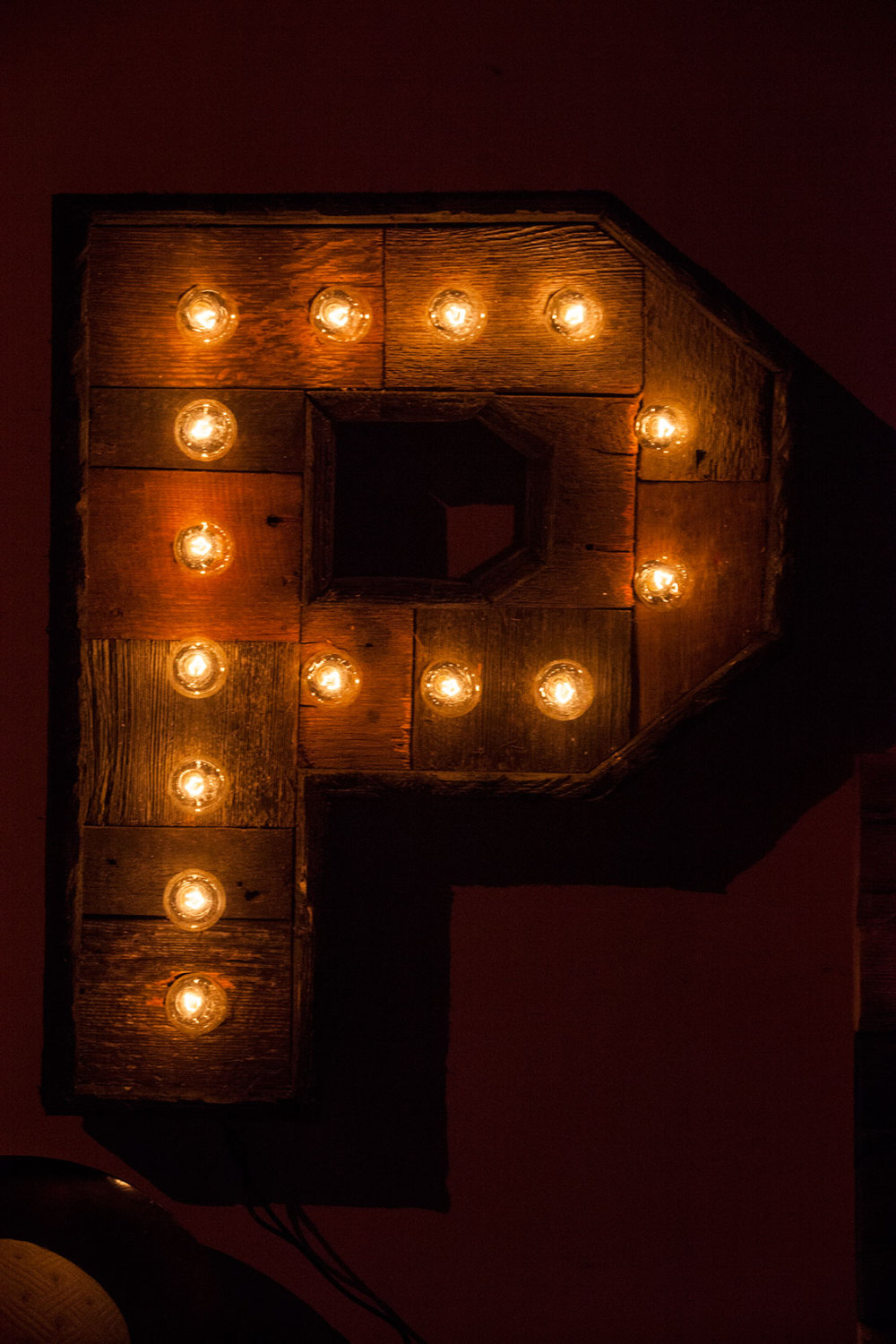 Reclaimed wood marquee letters w lights shabby chic for W home decor