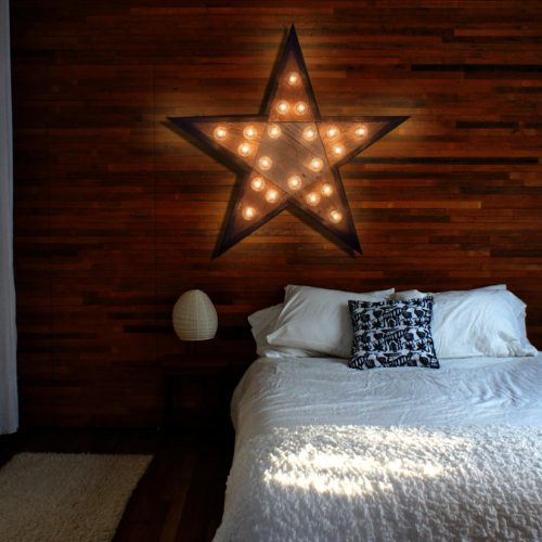 Reclaimed wood marquee star w/ Lights, Shabby Chic, Salvaged Barn Wood Letter, Wedding, Nursery Alphabet Letter, restaurant, home decor