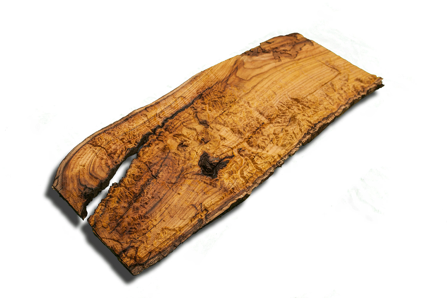 Seattle and portland area topographical map from a natural for Live edge slab lumber