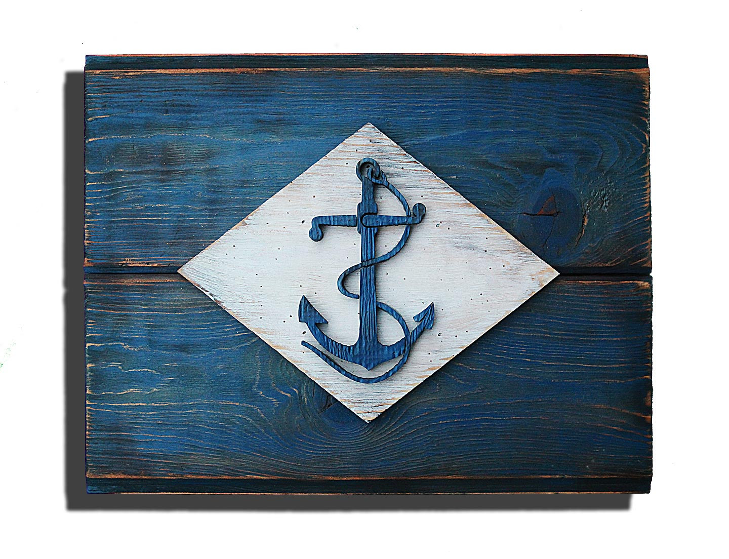 Home Decor Made From Recycled Materials United States Naval Flag 3d Vintage From Reclaimed Wood