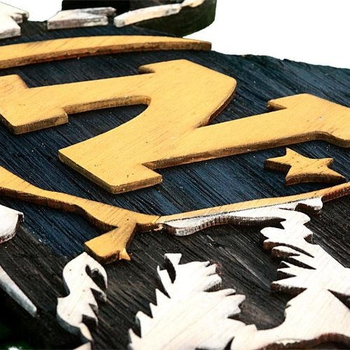 United States Navy Ram from reclaimed wood, vintage, art, weathered, recycled, home decor, Naval Academy, Man Cave, Blue, Navy