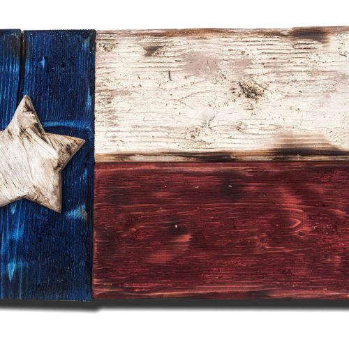 Weathered Wood One of a kind 3D Texas flag, Wooden, vintage, art, distressed, weathered, recycled, Texas flag art, red blue, home decor