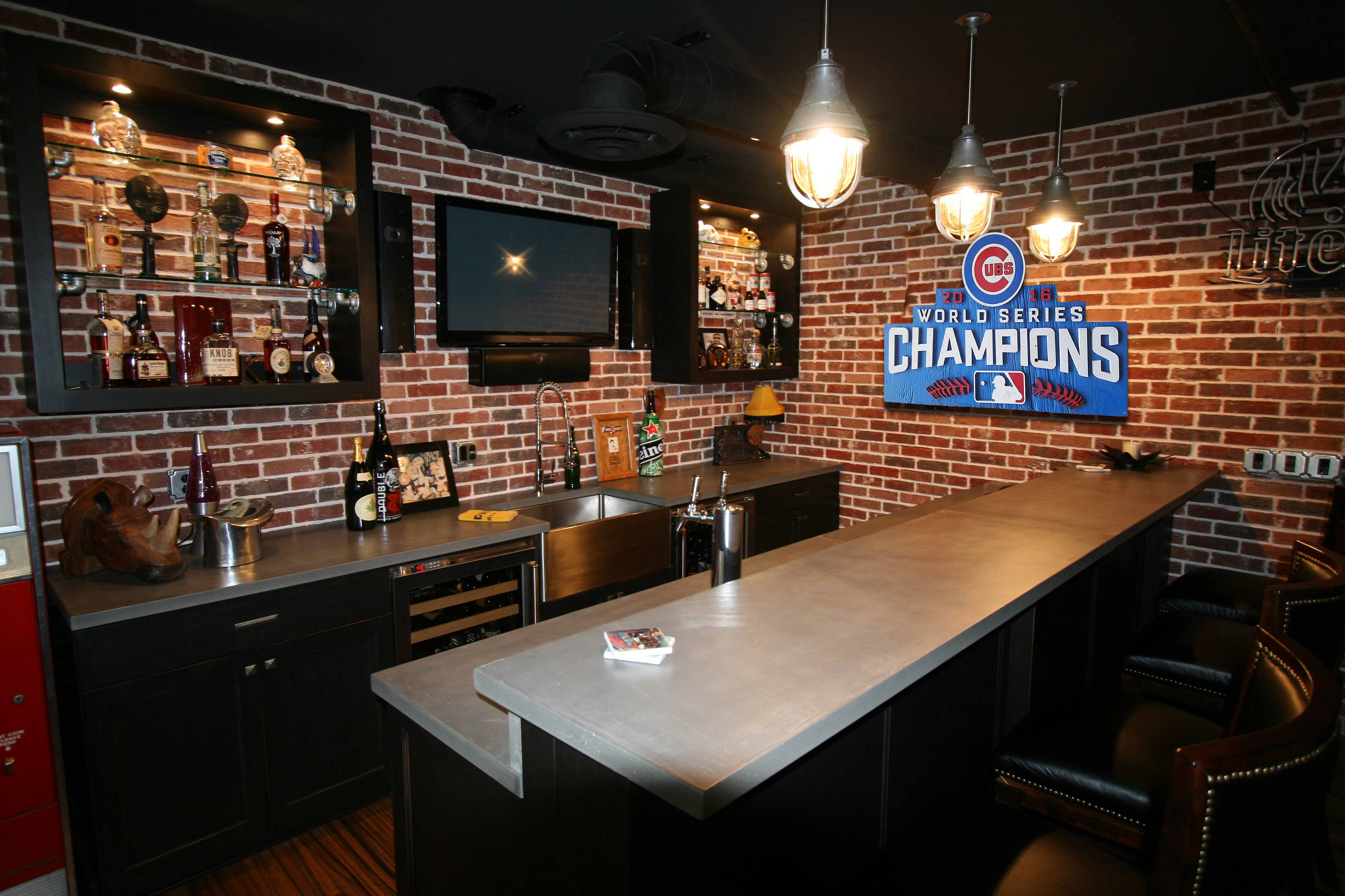 World Series Champions Chicago Cubs Handmade distressed wood sign ...