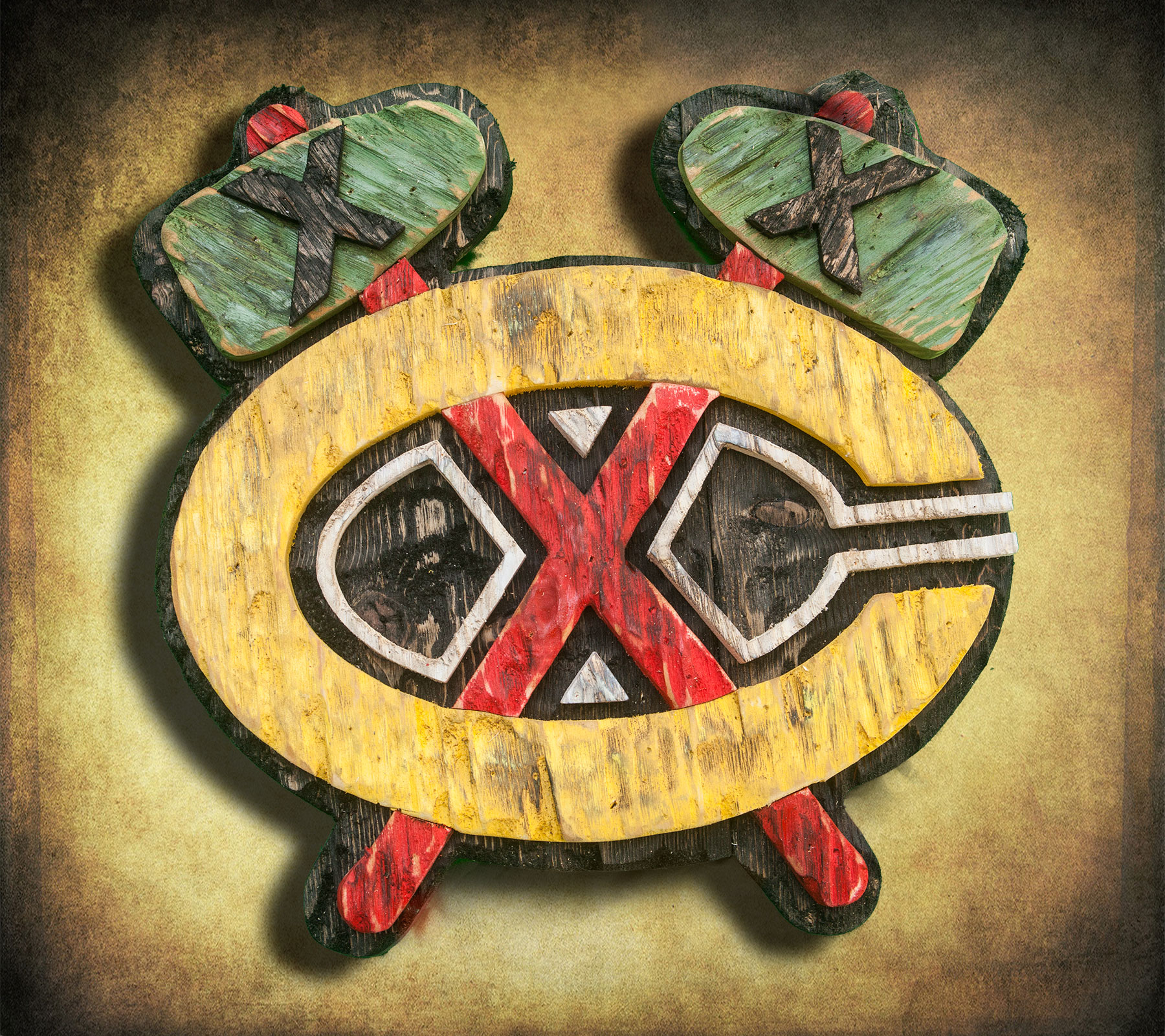 Chicago Blackhawks Handmade distressed wood sign, vintage, art ...