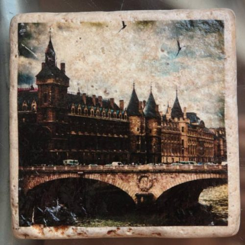 A stunning set of four 4x4 drink Coasters or wall art, taken in Paris France, that are sure to be a conversation piece on any coffee table.