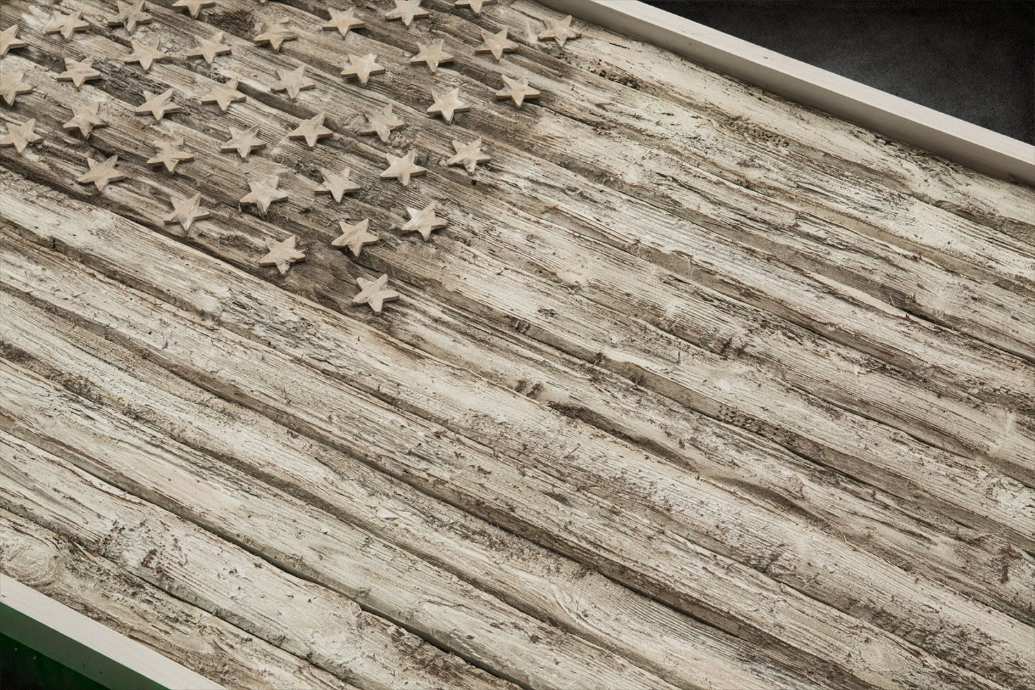 Very best American Flag, Weathered Wood, One of a kind, 3D, Wooden, vintage  PG63