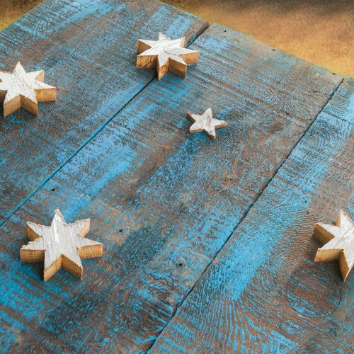 Australian Flag Weathered  reclaimed Barn Wood flag  limited Edition, vintage, distressed, weathered, recycled, Australia, blue, red, Sydney