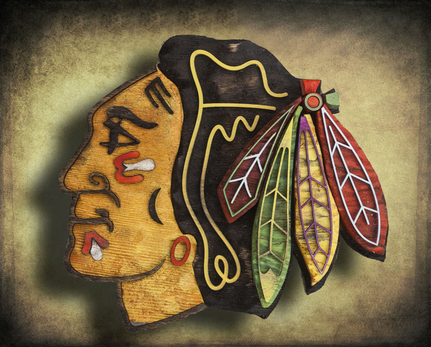Chicago Blackhawks Room Decor