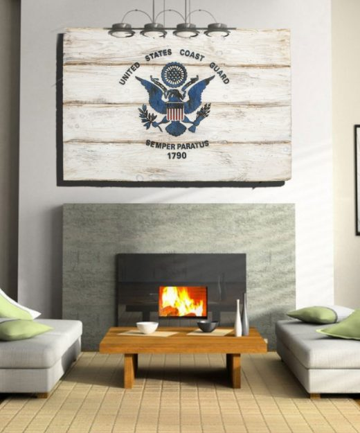 Distressed Home Decor: Maryland Flag, Extremely Limited White Edition, Weathered
