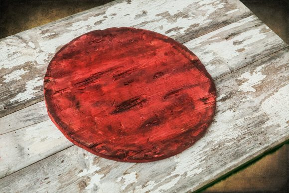 Handmade, Distressed Wooden Flag of Japan, vintage, art, Barn Wood, weathered, reclaimed, Japanese flag art, home decor, Wall art, recycled