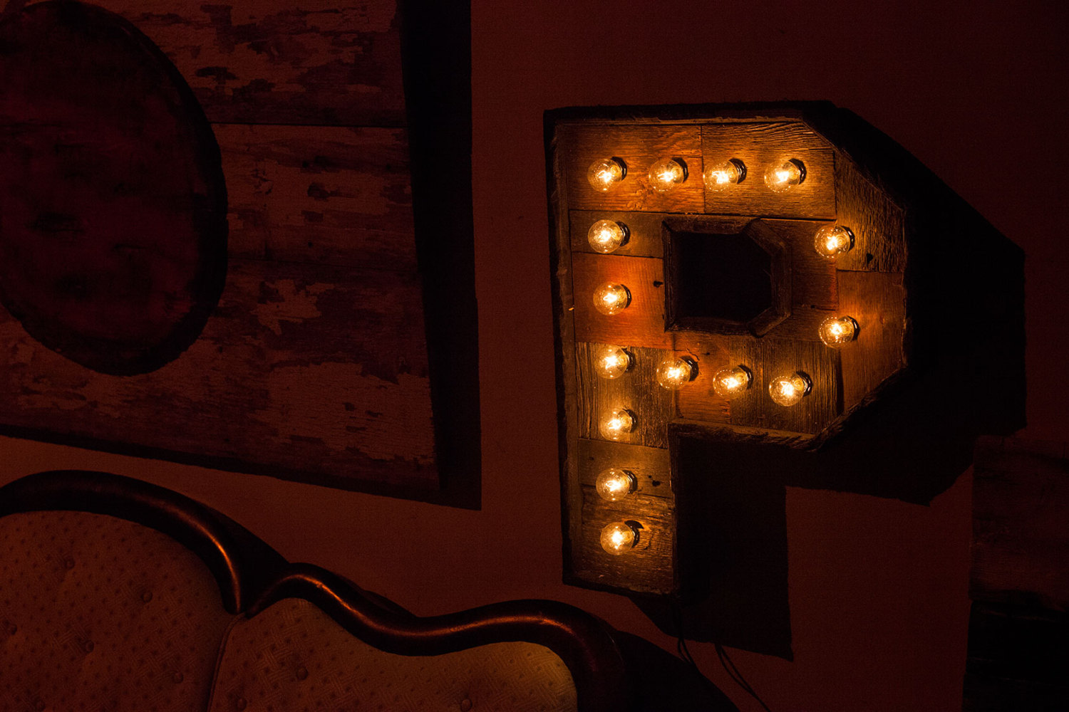 marquee letter lights reclaimed wood marquee letters w lights shabby chic 17385