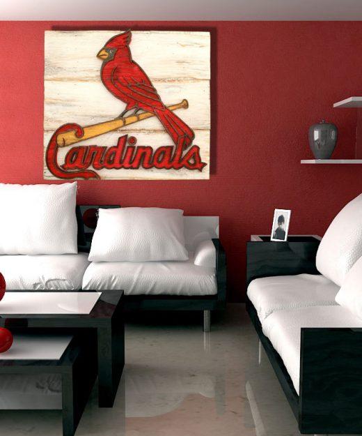 Baseball Home Decor: Custom Woodwork & Art