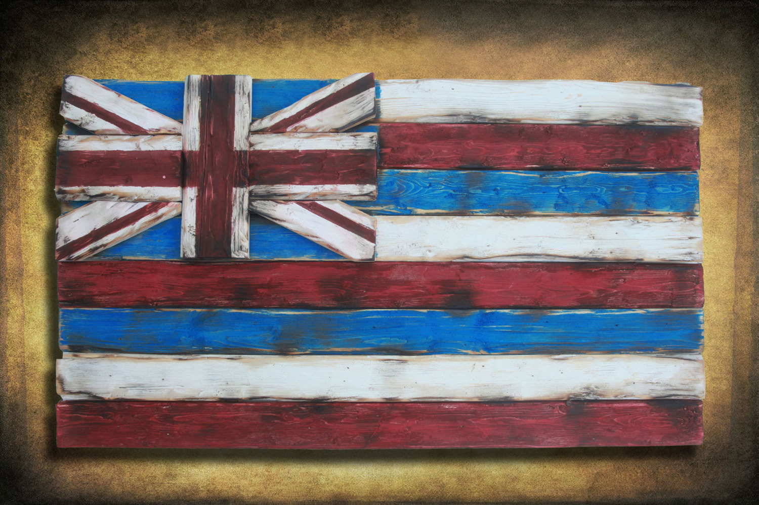 home decor stores oahu weathered wood one of a 3d hawaii state flag wooden 11211