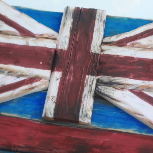 Weathered Wood One of a kind 3D Hawaii State flag, Wooden, vintage, art, Maui, O'ahu, distressed, home decor, patriotic, Hawaiian,blue, red