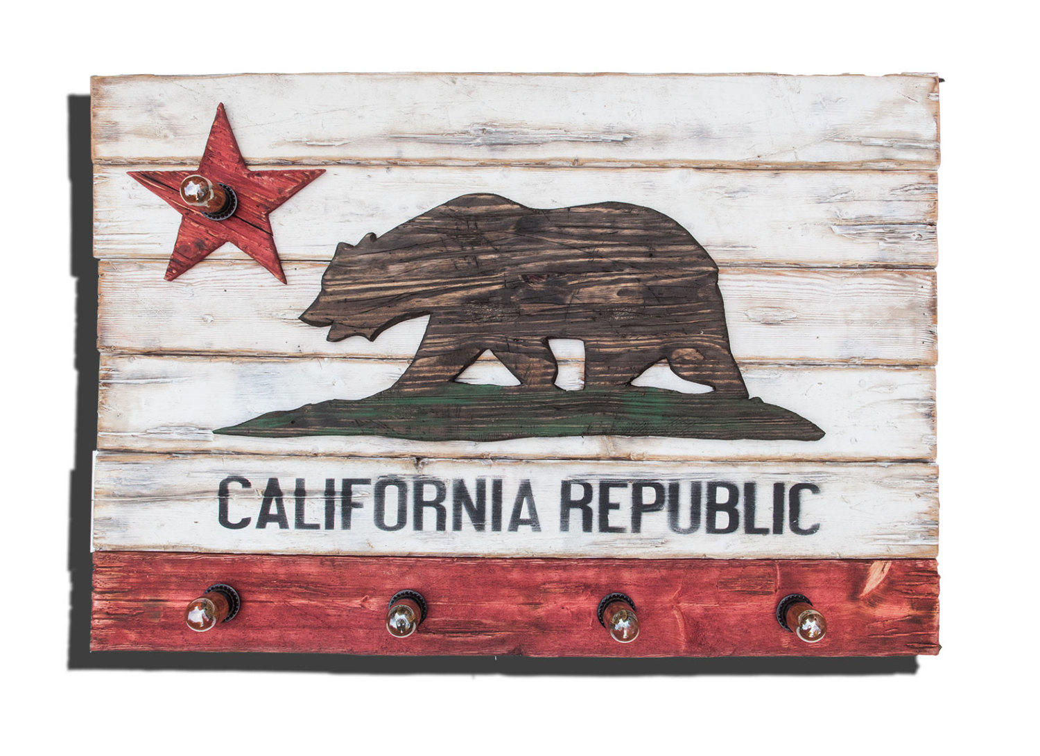 Weathered Wood One Of A Kind California Republic Flag. Hawaiian Bedroom Decor. Baby Name Decor. Decorative Compass. Christmas Decorators For Hire. Furniture Dining Room. Halloween Bedroom Decor. Dining Room Table And Chairs Set. Traditional Wall Decor